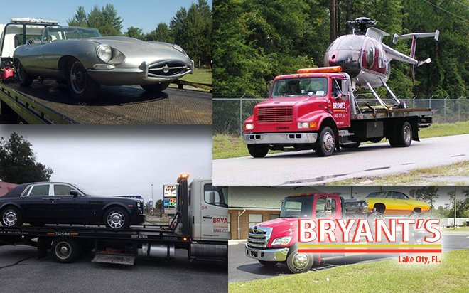 Bryant's 24 Hour Towing Service Tow Trucks, We can tow anything!